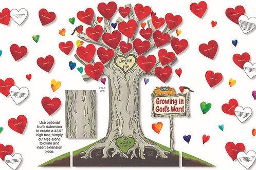 Growing In God's Word Bulletin Board Set
