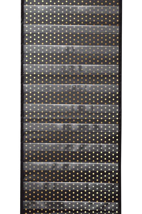 Gold Polka Dot Pocket Chart