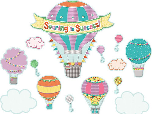Soaring to Success Bulletin Board Set