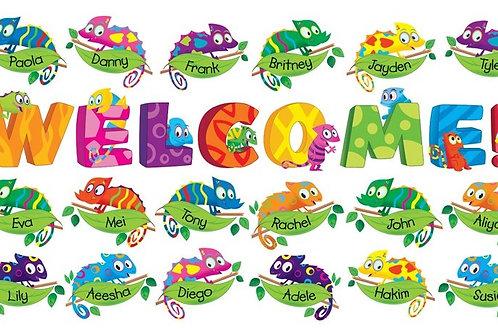 Welcome Chameleons Bulletin Board