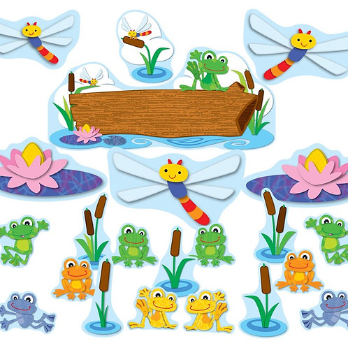 FUNky Frogs Bulletin Board Set