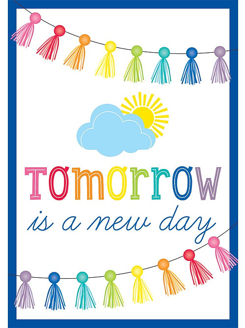 Tomorrow Is a New Day Poster