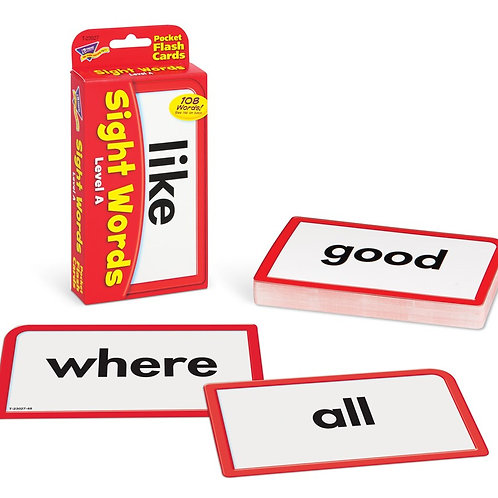 Sight Words – Level A