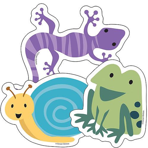 Frogs, Lizards & Snails Cut-Outs