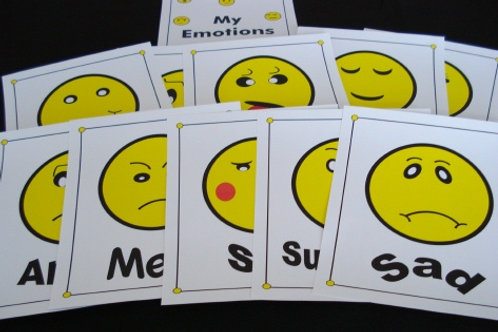 My Emotions Flashcards