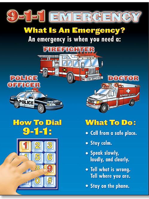 9-1-1 Emergency Chart