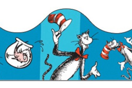 Cat in the Hat™ Blue Border