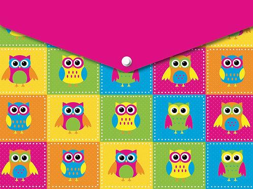 Color Owls Smart Poly™ Folder