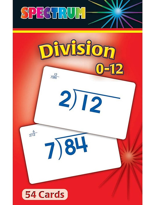 Division Flashcards