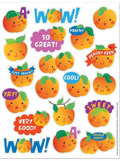 Peach Scented Stickers