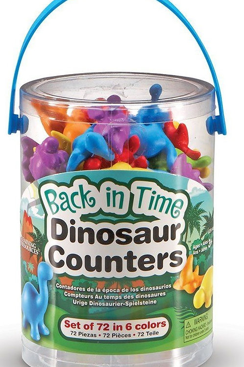Back In Time Dinosaur Counters