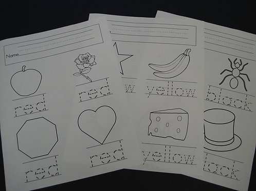 Colors Made Easy II Worksheets