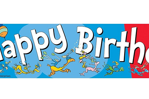 Dr. Seuss™ Happy Birthday Deco Trim