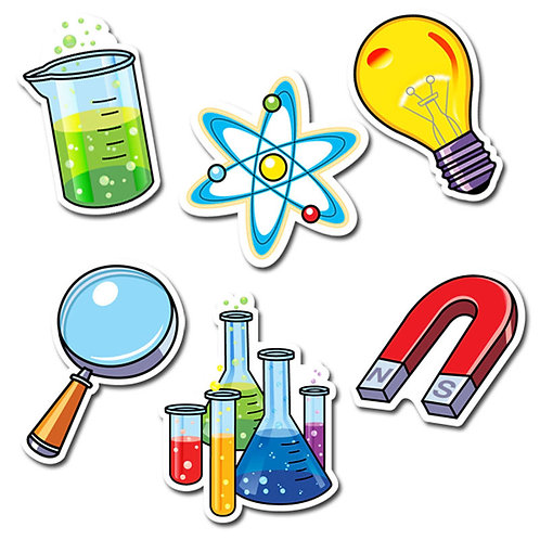 "Science Lab 6"" Designer Cut-Outs"