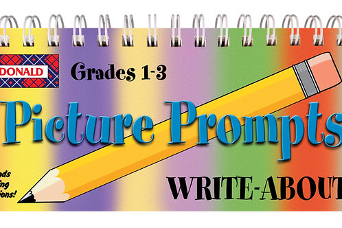 Picture Prompts Write-Abouts Grade 1-3
