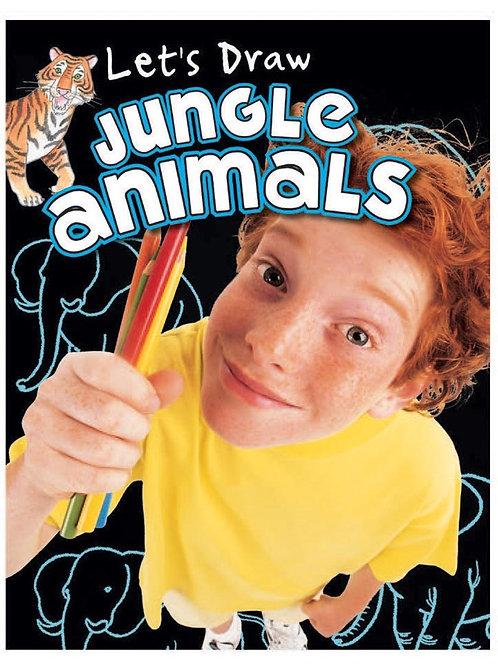 Let's Draw Jungle Animals