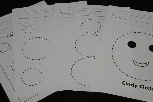Shapes with Personality Worksheets