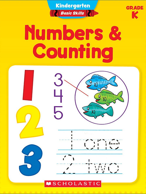 Numbers & Counting Workbook