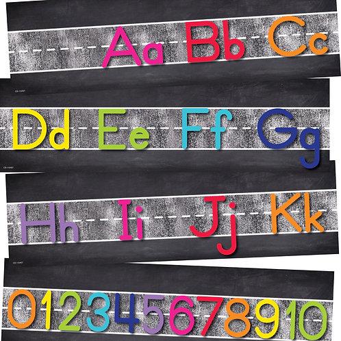 Twinkle Twinkle You're A STAR! Alphabet Line