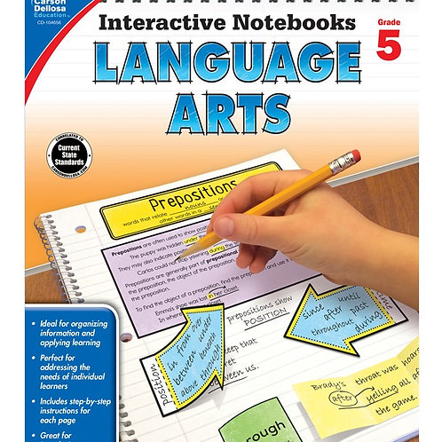 Interactive Notebooks: Language Arts 5th Gr