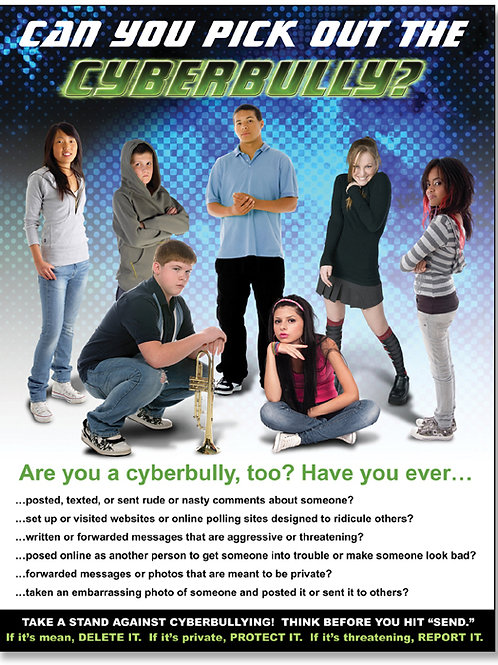 Cyberbullying Quick-Study Poster