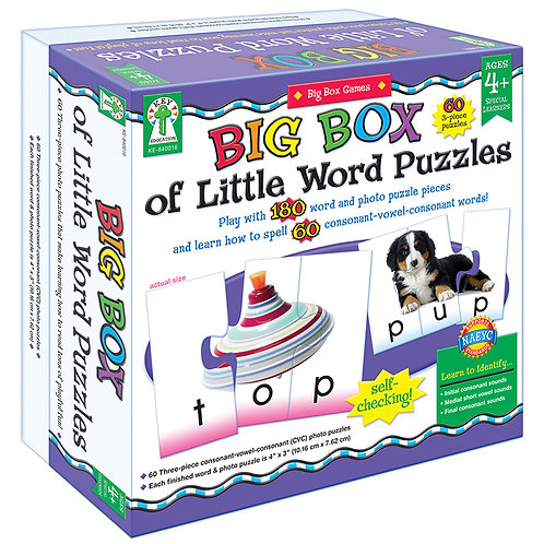 Big Box Word Puzzles