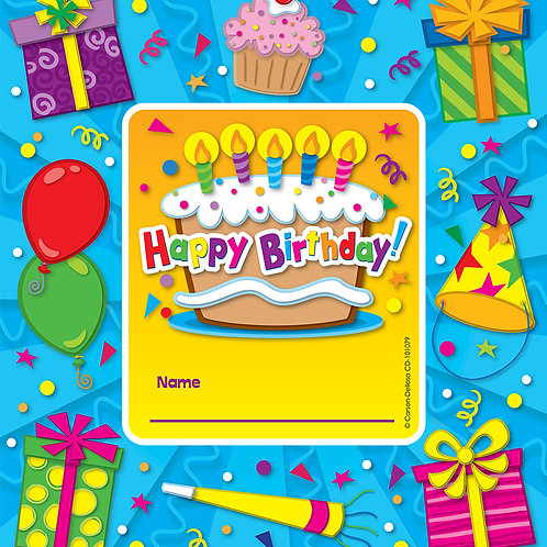Happy Birthday Framed Awards
