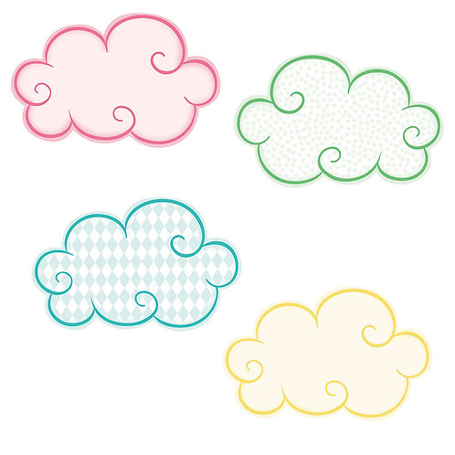 Clouds Mini Cut-Outs