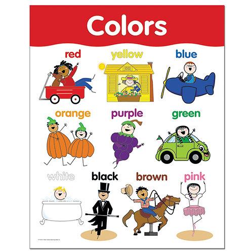 Colors Basic Skills Chart