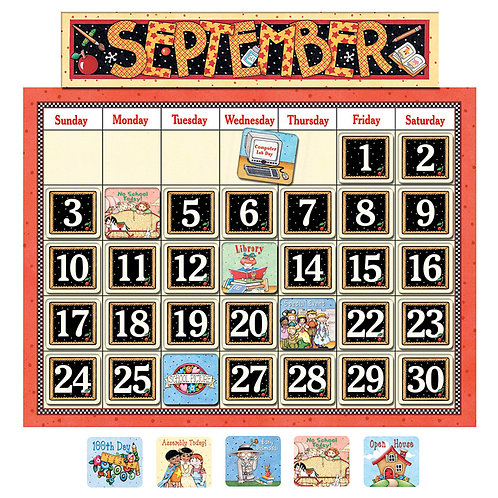 Classroom Calendar from Mary Engelbreit