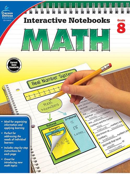 Interactive Notebooks: Math Gr 8
