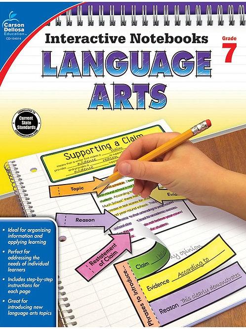 Interactive Notebooks: Language Arts Gr 7