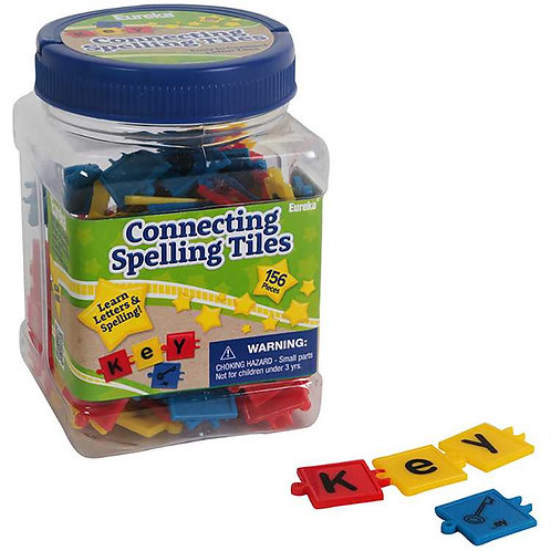 Tub of Connecting Spelling Tiles