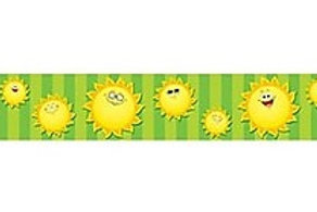 Happy Suns Straight Border
