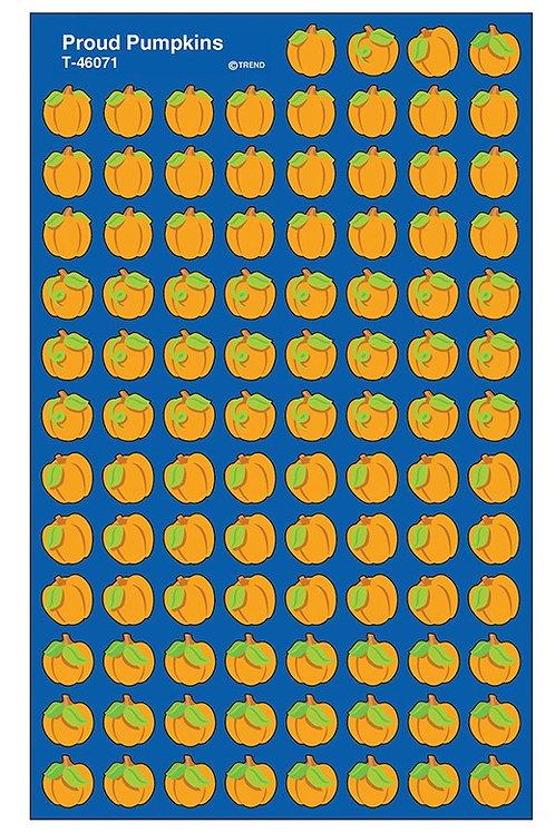 Proud Pumpkin Stickers
