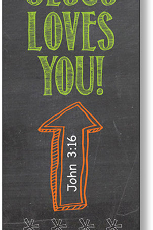 Jesus Loves You! Bookmarks