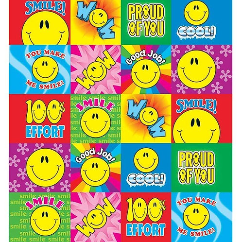 Smiley Faces Sticker Collection 1290 stickers