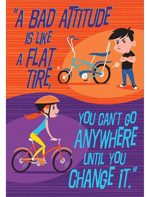 Flat Tire Classroom Poster