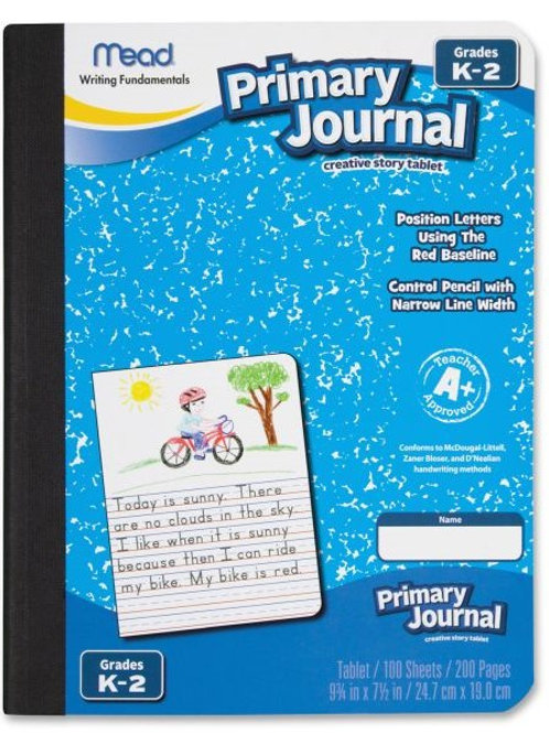 PRIMARY WRITING TABLET MEAD K-2