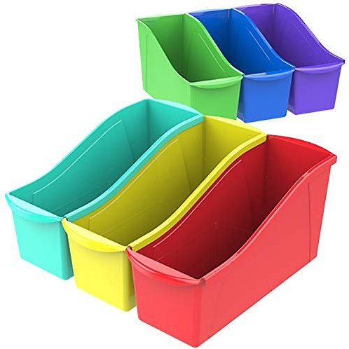 Plastic Book Bins