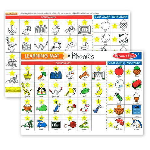 Learning Mat Phonics