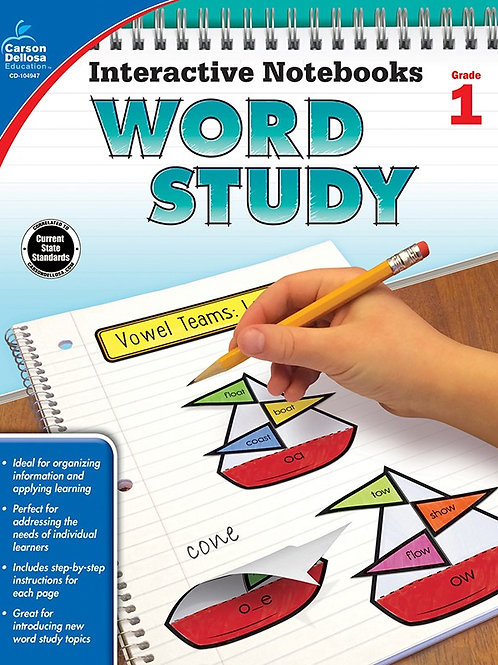 Interactive Notebooks: Word Study Gr 1