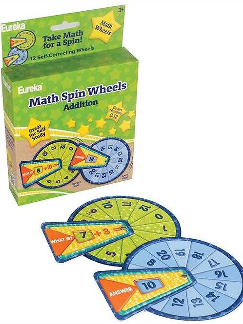 Math Spin Wheels - Addition