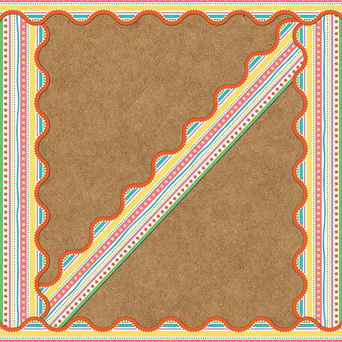 Star Fair Scalloped Border