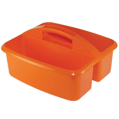 STORAGE CADDY-ORANGE LARGE