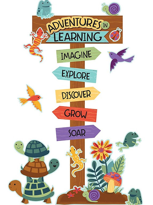 Adventures in Learning Bulletin Board Set