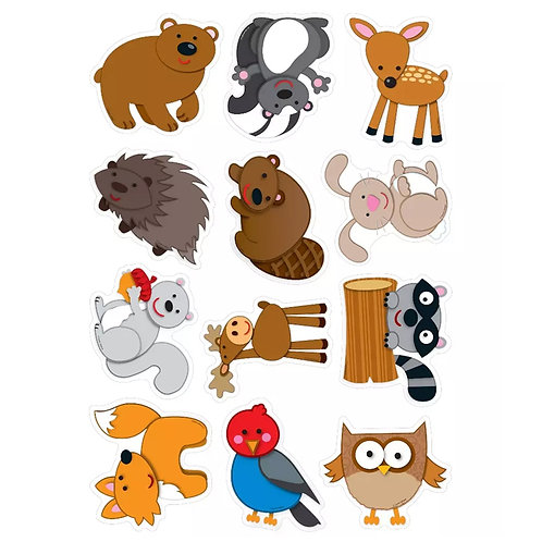 Woodland Animals Cut-Outs