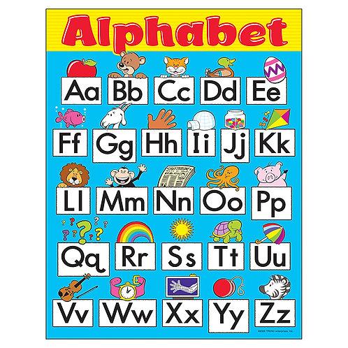 Alphabet Fun Learning Chart