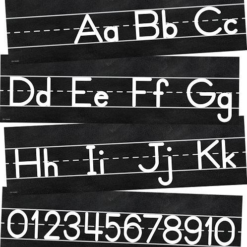 Industrial Chic Alphabet Line