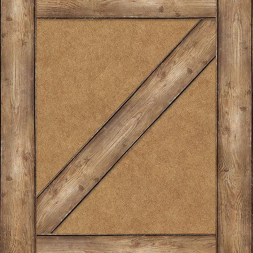 Wood Grain Straight Borders